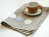 Modern Natural Dot Tea Towel